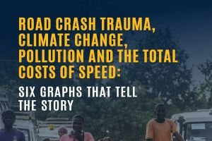 Road Crash Trauma, Climate Change, Pollution and the Total Costs of Speed: Six graphs that tell the story